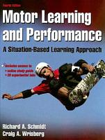 Motor Learning and Performance PDF