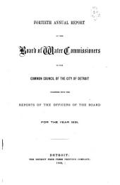 The Operating Report for the Fiscal Year Ending June 30 ...: Volumes 40-41