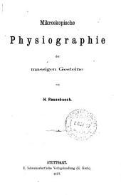 Mikroskopische phisiographie der mineralien und gesteine: Massige gesteine