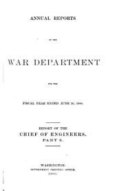 Annual Reports of the War Department