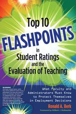 Top 10 Flashpoints in Student Ratings and the Evaluation of Teaching PDF