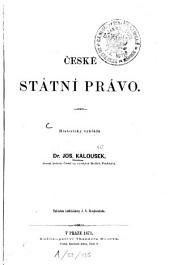České státní právo