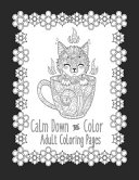 Calm Down and Color Adult Coloring Pages