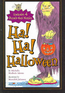 Ha Ha Halloween Book PDF
