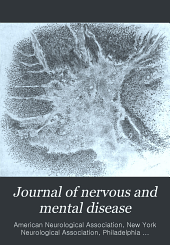 Journal of Nervous and Mental Disease: Volume 26