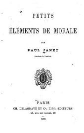 Petits éléments de morale