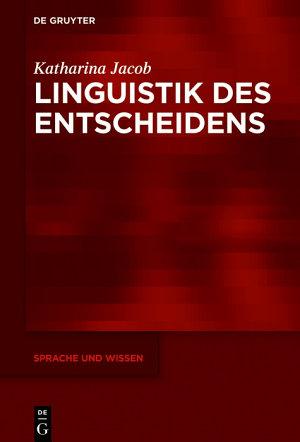 Linguistik des Entscheidens PDF