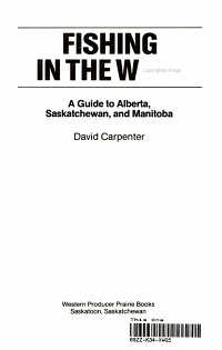 Fishing in the West   a Guide to Alberta  Saskatchewan  and Manitoba PDF