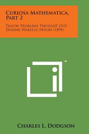 Curiosa Mathematica  Part 2 PDF