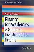 Finance for Academics PDF