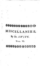 The works of Jonathan Swift: Volume 6