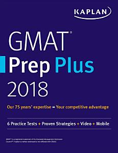 GMAT Prep Plus 2018 Book