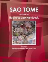 Sao Tome and Principe Business Law Handbook Volume 1 Strategic Information and Basic Laws PDF