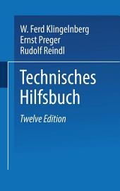 Klingelnberg Technisches Hilfsbuch: Ausgabe 12