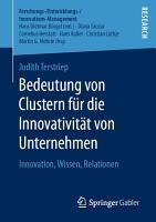 Bedeutung von Clustern f  r die Innovativit  t von Unternehmen PDF