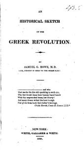 An Historical Sketch of the Greek Revolution