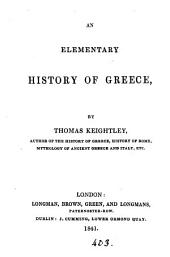 An elementary history of Greece