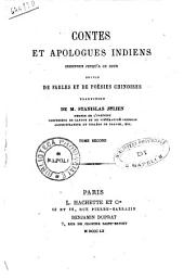 Contes et Apologues Indiens. Tome Second