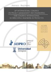 18th International Congress on Project Management and Engineering: Book of Abstracts / Libro de Resúmenes