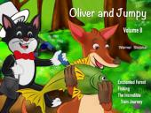 Oliver and Jumpy - the Cat Series, Stories 22-24: Bedtime stories for children in illustrated picture book with short stories for early readers.