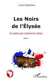 Les Noirs de l'Elysée: Un palais pas comme les autres -, Volume1