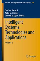 Intelligent Systems Technologies and Applications: Volume 2