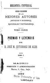 Poemas y leyendas: Volumen 1
