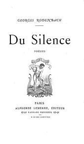 Du silence: poésies