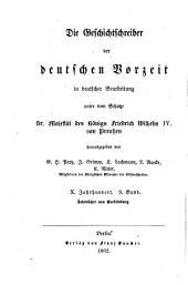 Die Jahrbücher von Quedlinburg
