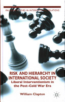 Risk and Hierarchy in International Society PDF