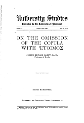 On the Omission of the Copula with Hetoimos