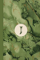Monogram J Marble Notebook (Leafy Green Edition)