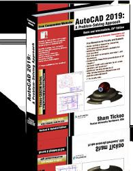 AutoCAD 2019  A Problem   Solving Approach  Basic and Intermediate 25th Edition PDF