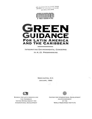 Green Guidance for Latin America and the Caribbean