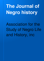 The Journal of Negro History