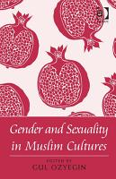Gender and Sexuality in Muslim Cultures PDF