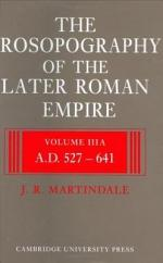 The Prosopography of the Later Roman Empire 2 Part Set: Volume 3, AD 527-641