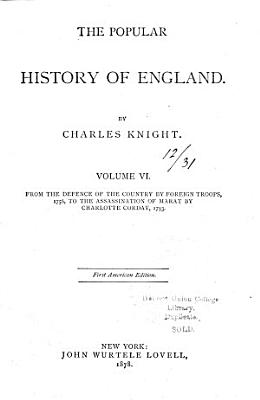 From the defence of the country by foreign troops  1756  to the assassination of Marat by Charlotte Corday  1793 PDF