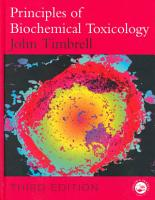 Principles of Biochemical Toxicology  Third Edition PDF