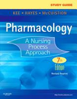 Study Guide for Pharmacology   E Book PDF