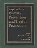 Encyclopedia of Primary Prevention and Health Promotion PDF