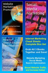 Internet Marketing Cheat Sheets: Complete Box Set