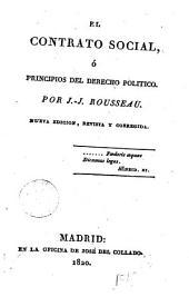 El Contrato social, ó principios del derecho político