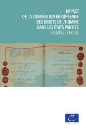 Impact de la Convention européenne des droits de l'homme dans les États parties: Exemples choisis