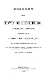 History of the Town of Fitchburg, Massachusetts