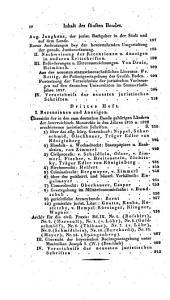 Jahrbücher der gesammten deutschen juristischen Literatur: Band 5