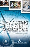 Navigating the First College Year PDF