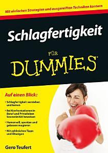 Schlagfertigkeit f  r Dummies PDF