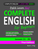 English Lessons Now  Complete English For Beginners Lesson 11   20 Thai Edition PDF
