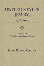 United States Jewry, 1776-1985
